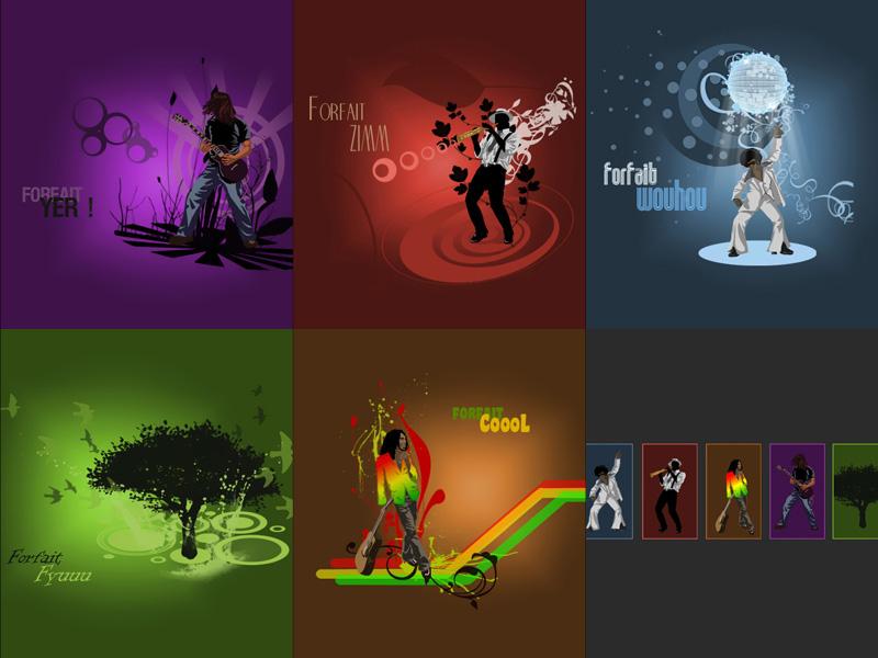 WebJam 2007 - Illustrations d'interface