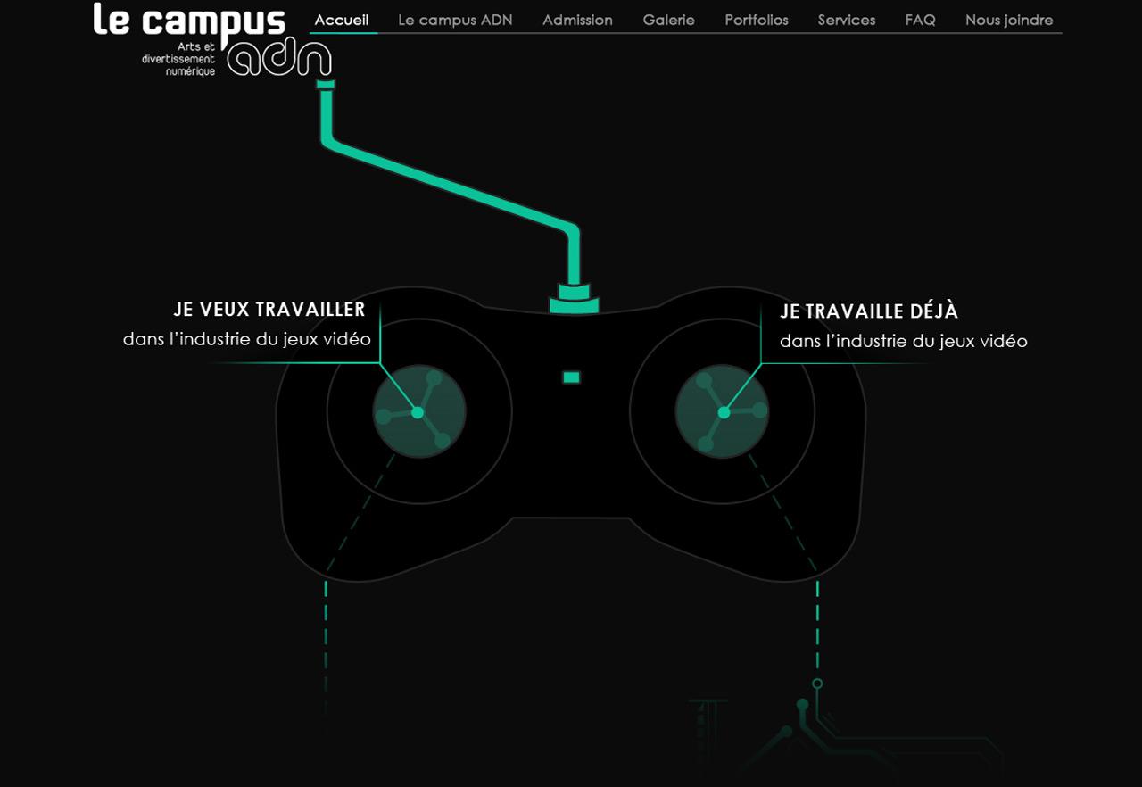 Le Campus ADN