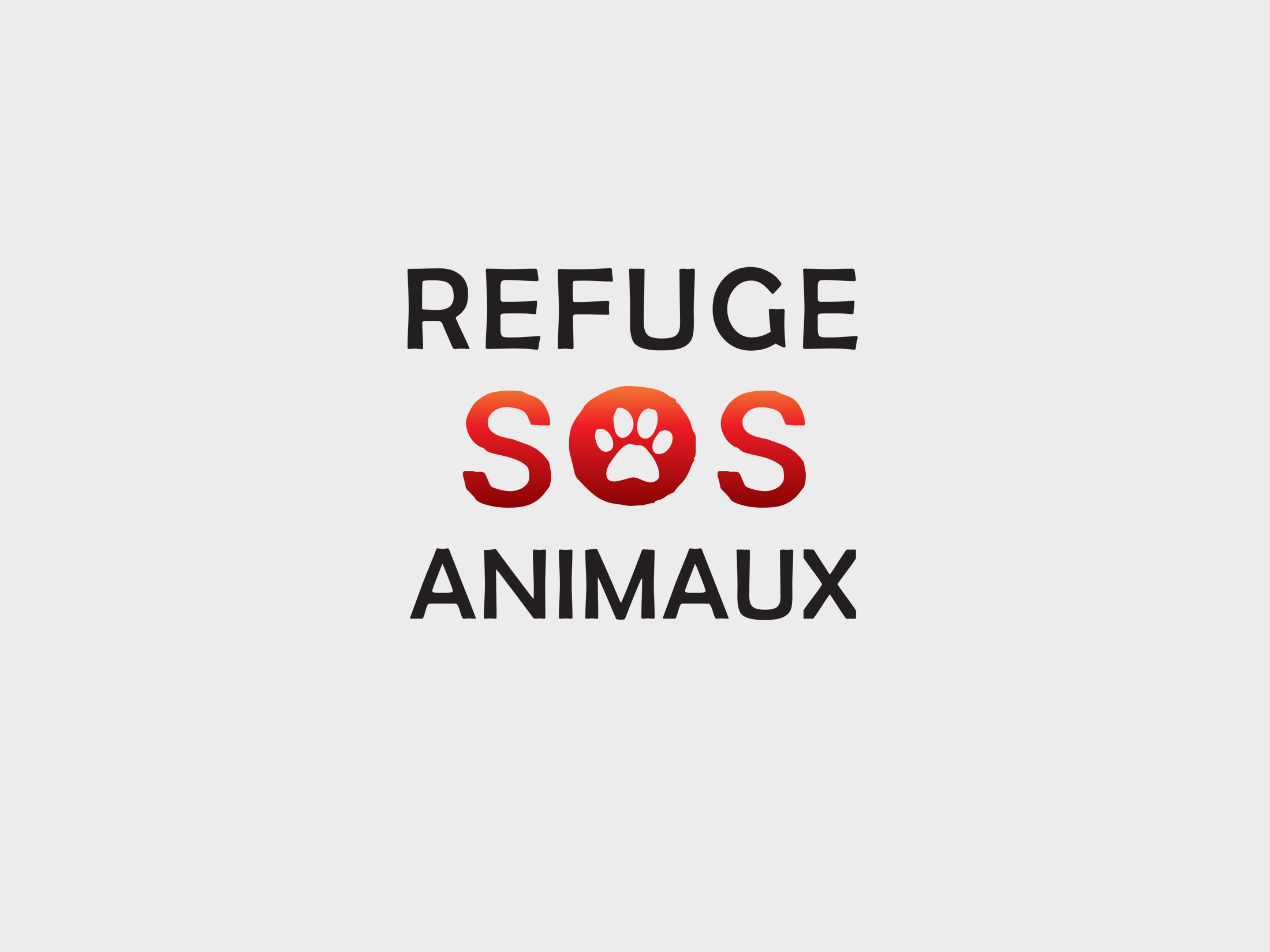 Refuge SOS Animaux - Logo