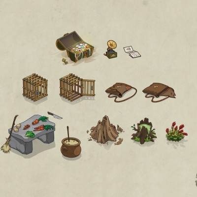 S.O.S Créatures - Items spéciaux