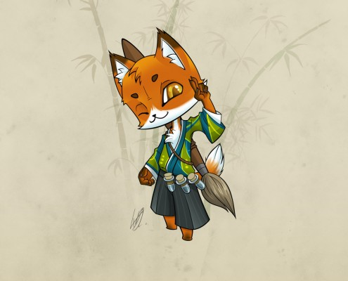 Kitsune featured