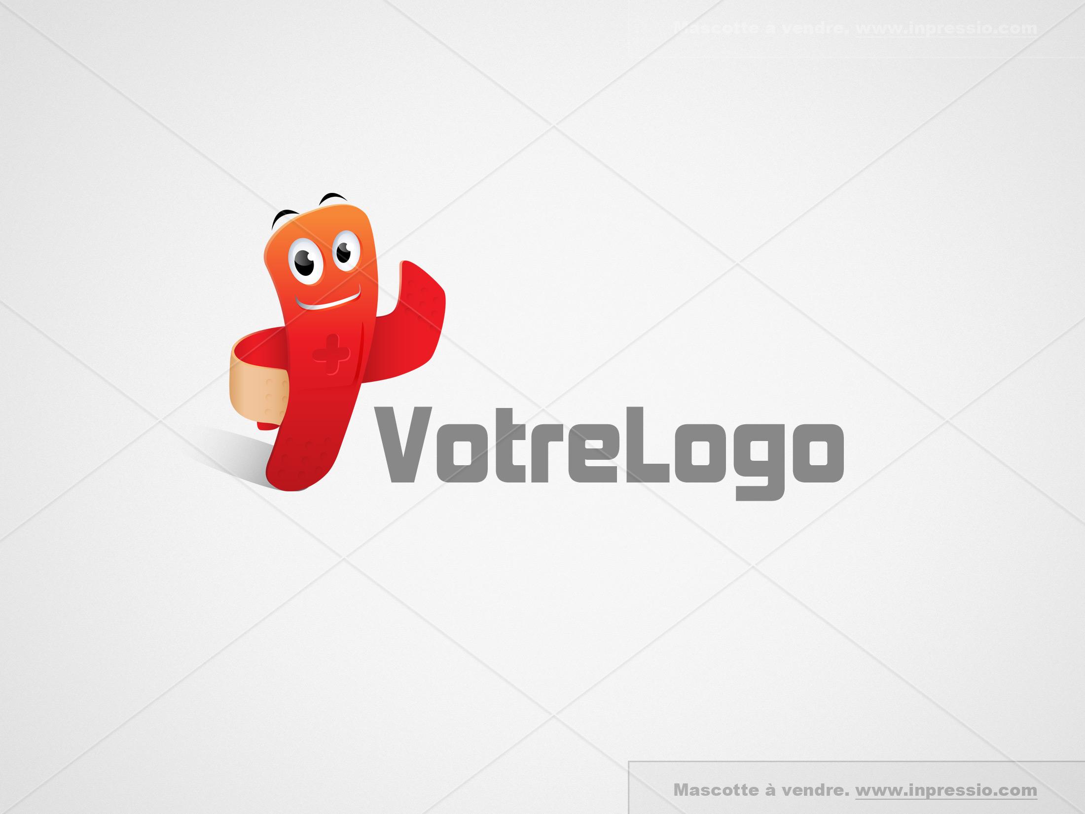 Plaster - Logo/Mascotte à vendre