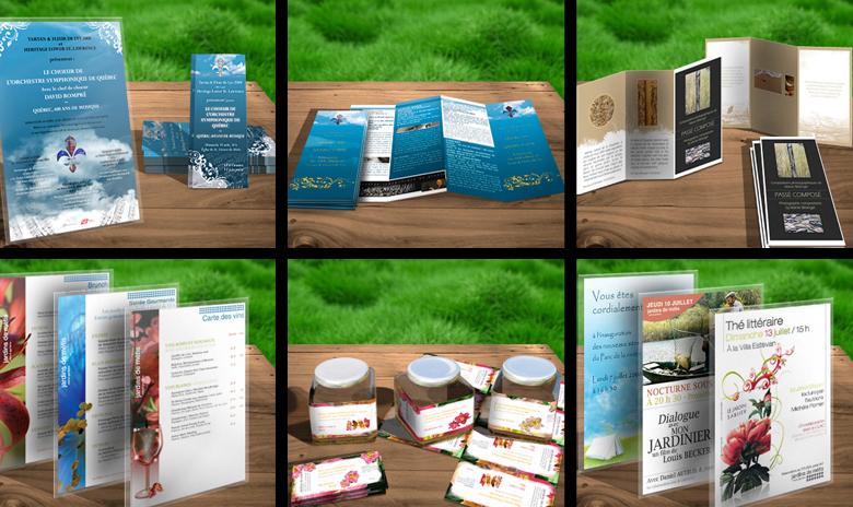 Jardins de Métis 2008 - outils de communication