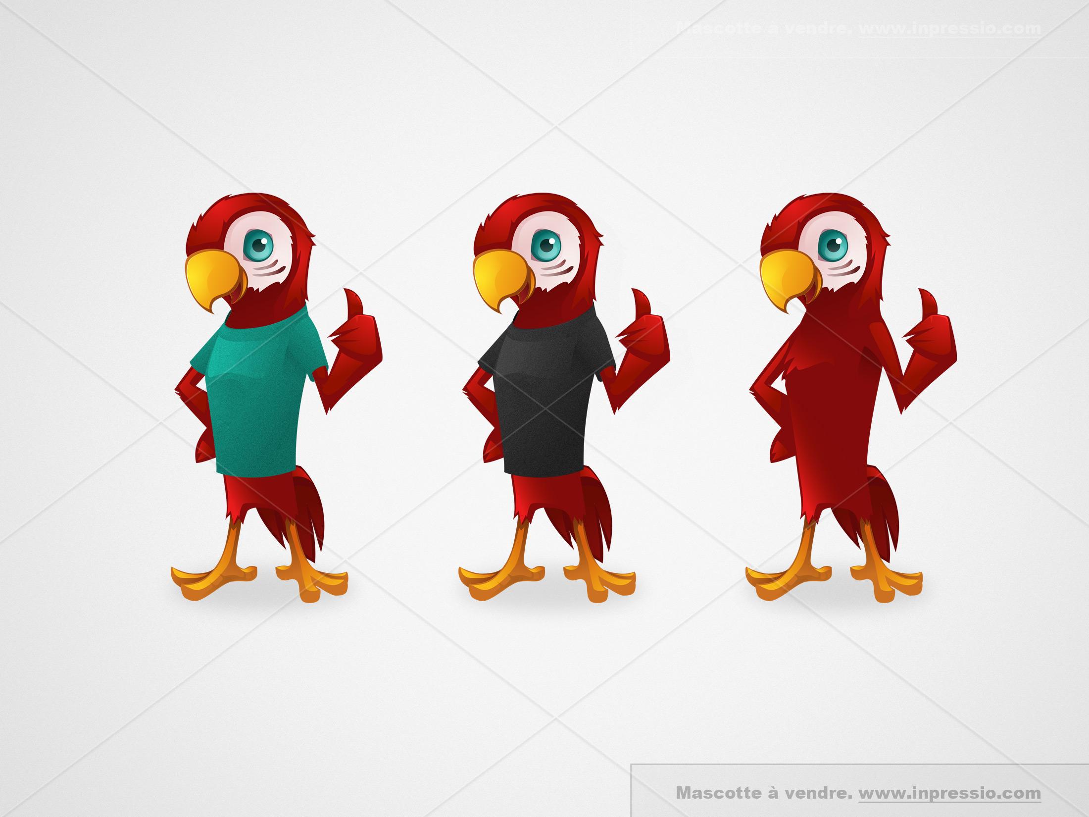 Parrot - Mascotte à vendre