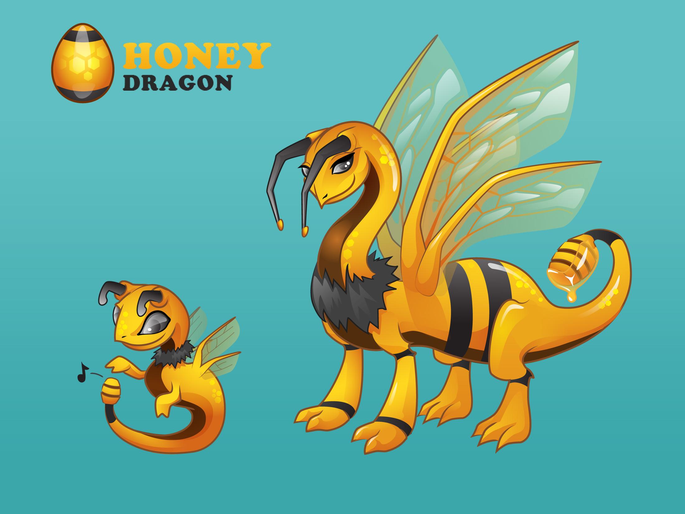 Dragons 2012 - Honey Dragon