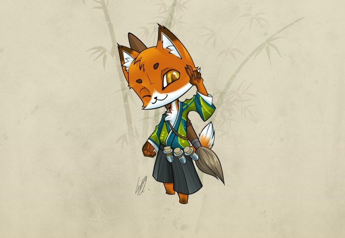 Kitsune featured