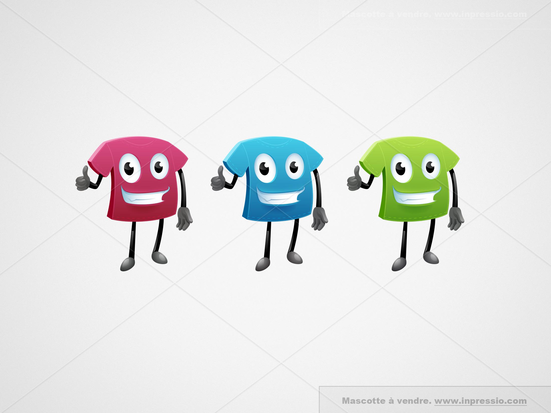 Tshirt - Logo/Mascotte à vendre